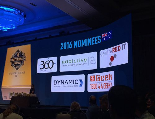 Addictive Recognised as an ANZ Finalist for the Golden Datto Awards